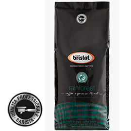 Bristot Rainforest koffiebonen